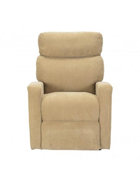 Sillón electrico desenfundable levantapersona 2mot reclinación espalda/pies independiente, asiento no deformable, respalto suave