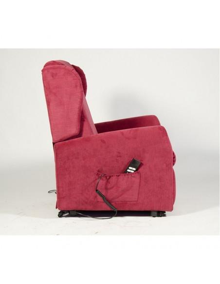 Sillón elelttrico, 2 mot respaldo / pies independientes, respaldo asiento y apoyabrazos en memory antiescaras tejido antimancha