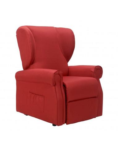 Sillón Relax, levantapersona, movimentacion independiente respalto/pie, orejas laterales, antimancha, no deformablle