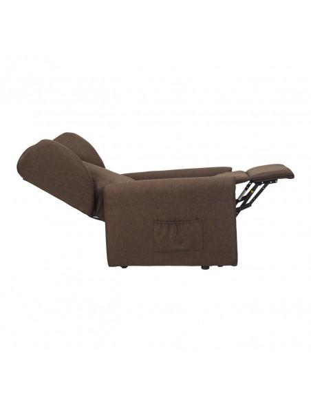 Sillón reclinable con 2 motores, levantapersona, asiento no deformable, cómodas orejas laterales , antimanchas, tamaño small