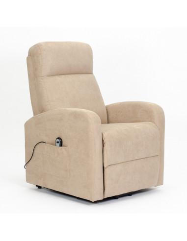Sillón eléctrico, levantapersona, 1 mot. reclinación combinada, reposapies anticipado, asiento suave no deformable, mejor precio