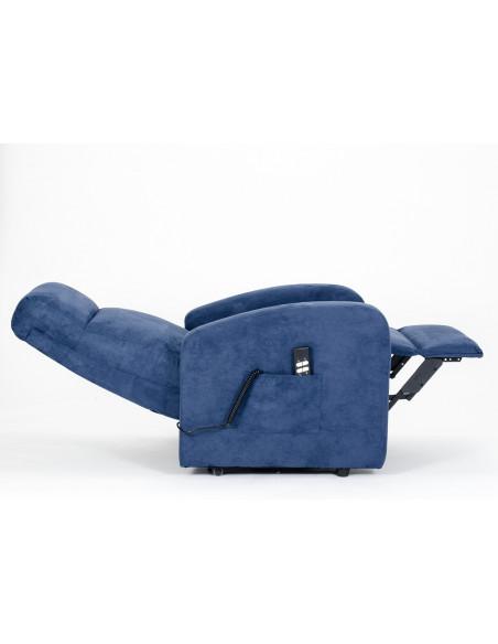 Sillón eléctrico, levantapersonas, reclinacion independiente respaldo/pies, asiento suave y no deformable, mejor precio, 2 mot