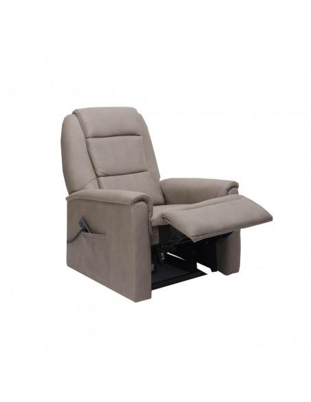 Sillón electrico 2 mot reclinación independiente, levantapersona, asiento no deformable, tejido superior, tamaño XL 250kg